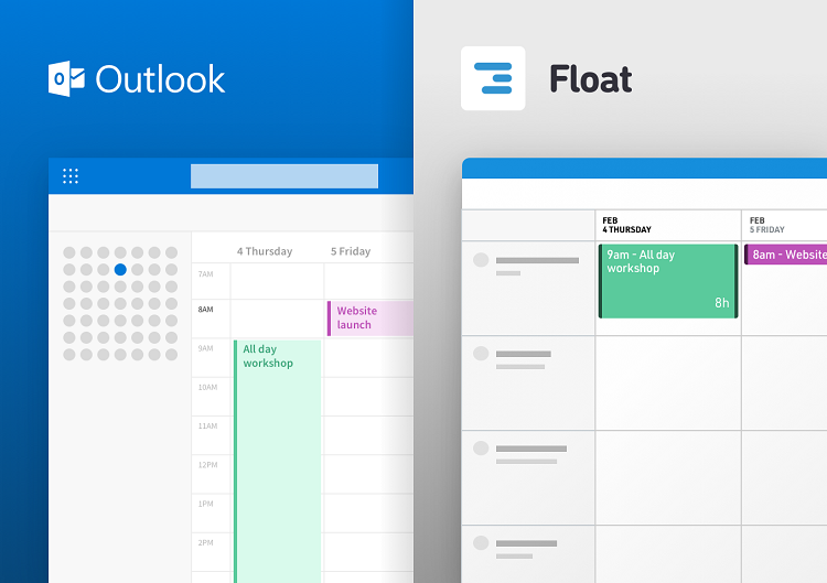 Sync Your Outlook Calendar with Float