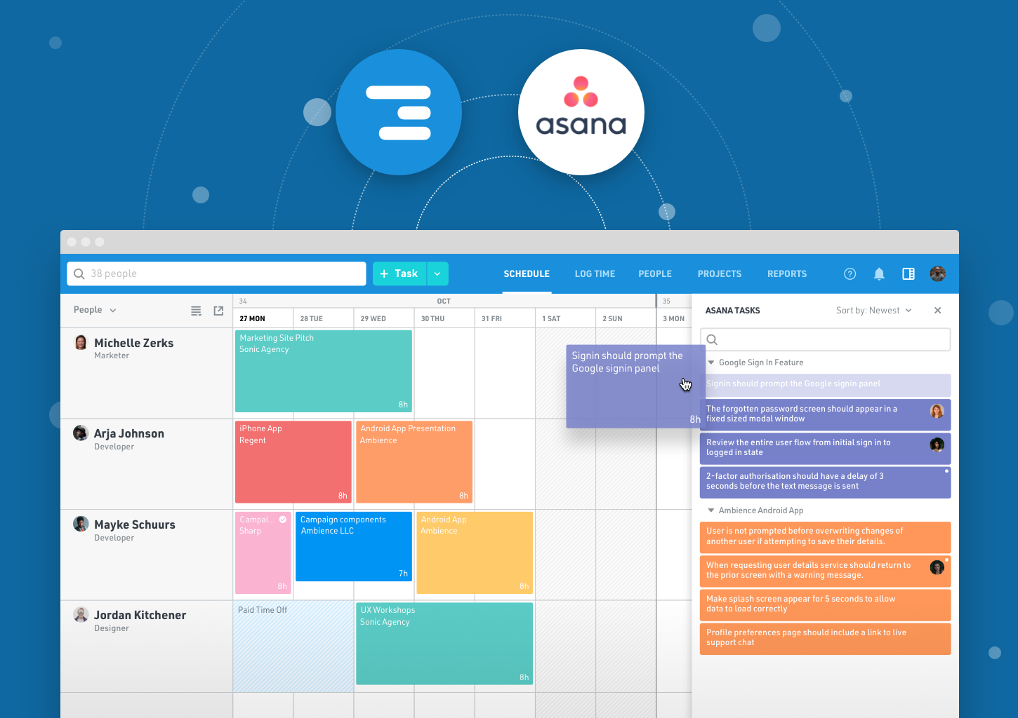 Simplify Your Resource Scheduling Workflow with Our Asana Integration