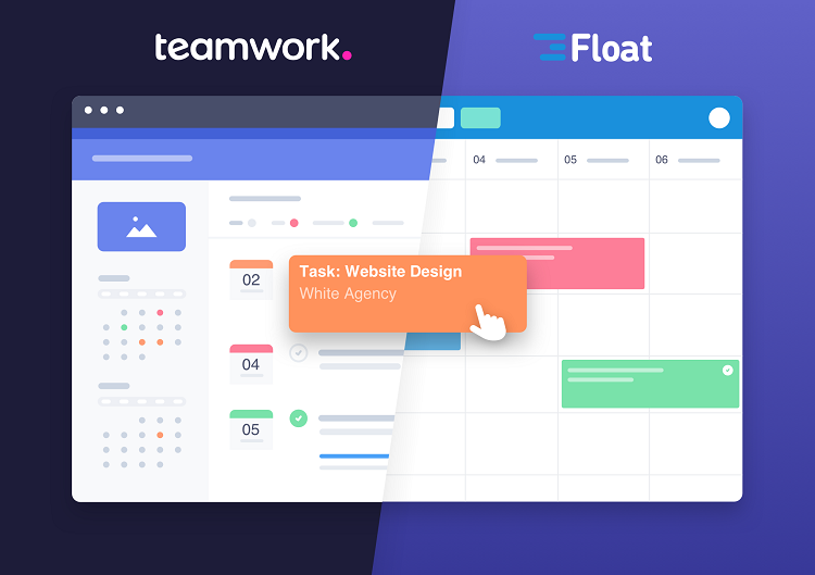 Easy Drag-And-Drop Scheduling With Our Teamwork Integration