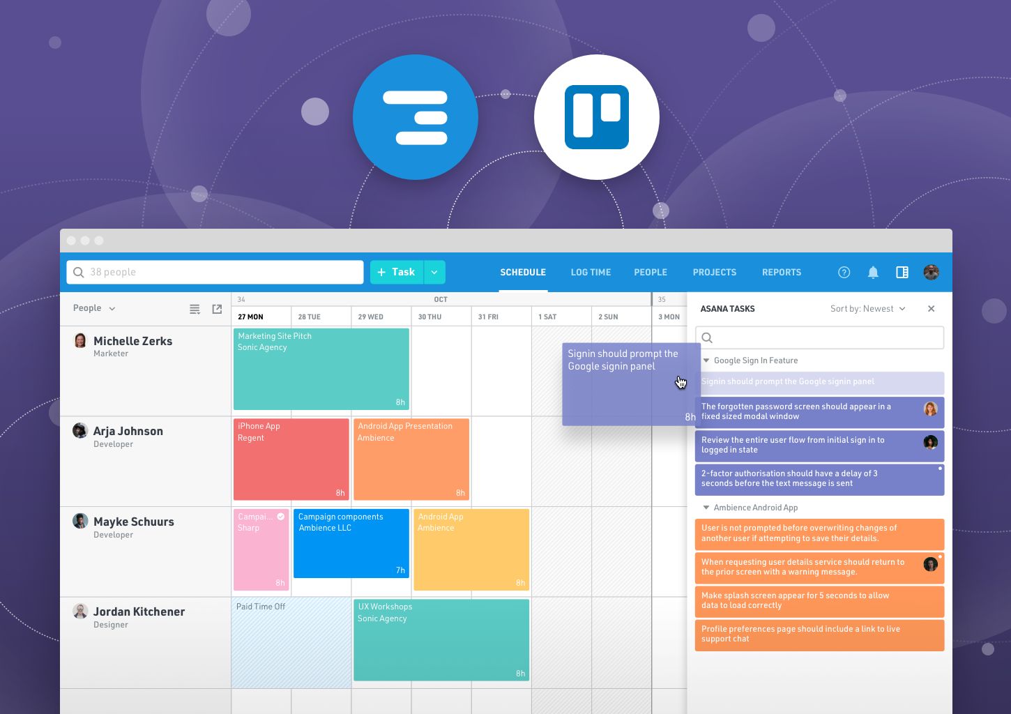 Schedule Your Trello Cards in Float With This New Integration